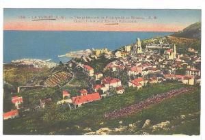 General View & Monaco Princedom, La Turbie (Alpes Maritimes), France, 1900-1910s