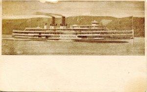 Hudson River Day Line - Steamer Hendrick Hudson