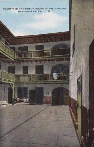 Courtyard And Prison Rooms In The Cabildo New Orleans Louisiana 1954