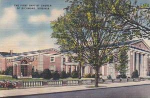 The First Baptist Church of Richmond,  Virginia,  30-40s