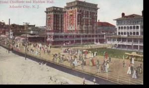 New Jersey Atlantic City Hotel Chalfonte And Haddon Hotel