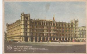MEXICO CITY, Mexico, 1900-1910's; Nuevo Edificio Anexo Al Departamento Central