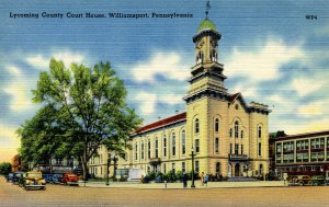 PA - Williamsport. Lycoming County Courthouse