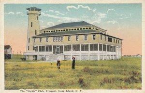 FREEPORT , L.I. , N.Y. ,1910s ; The LIGHTS Club