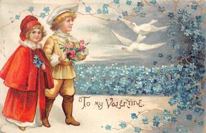 International Art Publishing Company Damaged Valentines Day 1909