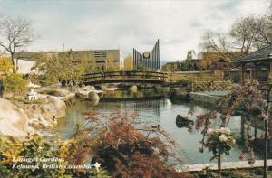 Canada British Columbia Kelowna Kasugai Gardens