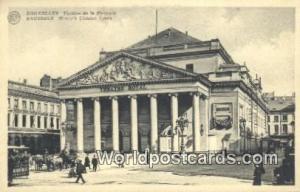 Bruxelles, Belgium, België, la Belgique, Belgien Theatre de la Monnaie  Thea...