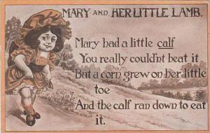 Mary &  Her Little Lamb 1909