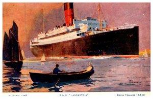R.M.S.lancastria , Cunard Line