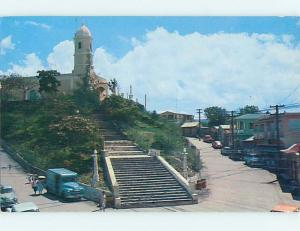 Pre-1980 CHURCH SCENE Hormigueros Puerto Rico PR hs7591