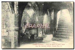 Old Postcard Old Cellar Lisieux the 13th at M Dutheil Hairdresser Gradne Street
