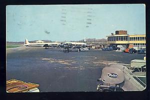 Cincinnati, Ohio/OH Postcard, Greater Cincinnati Airport, Delta Logo, 1964!