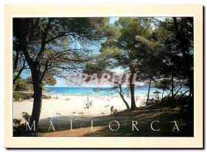 Postcard Modern Mallorca Cala Agulla