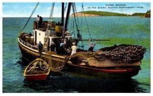 Purse Seining  Fishing Boat