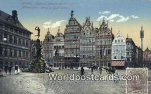Anvers, Belgium, België, la Belgique, Belgien Brabo et Maisons des Corporati...