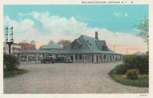 CHATHAM , N.Y. , 1900-10s ; Railroad Train Station