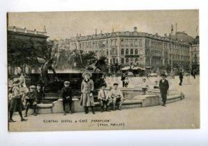 172492 DENMARK Copenhagen CENTRAL HOTEL & CAFE PARAPLYEN