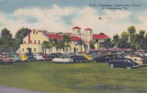 Florida Saint Petersburg Pasadena Community Church1954
