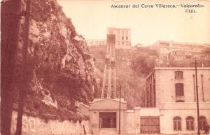 Valparaiso Republic of Chile Ascensor del Cerro Villaseca Valparaiso Ascensor...