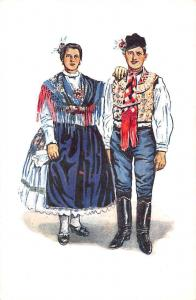 Hungary Csikos Toth Andras: Hungarian married Couple, Traditional Clothing