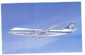 The Air New Zealand, Rolls-Royce Boeing B 747, New Zealand,  40-60s