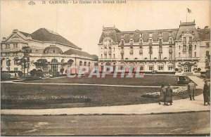 Old Postcard Cabourg Casino and Hotel