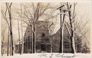 Kirkwood MO~United Methodist Episcopal Church~Real Photo Postcard c1908