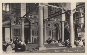 RP: CAIRO, Egypt, 30-50s; The Mosque El Mouayad