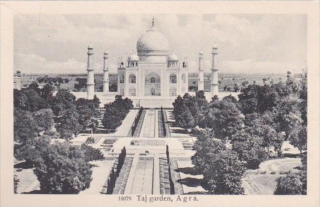 India Agra Taj Mahal Garden