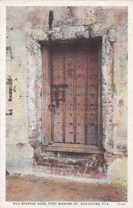 Florida Saint Augustine Old Spanish Door Fort Marion Albertype