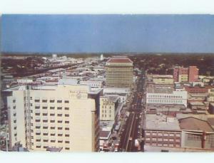 Pre-1980 PANORAMIC VIEW Fresno California CA W6737-12