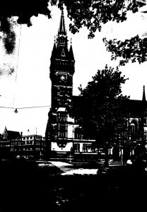 Germany Braunschweig Das Rathaus 1955