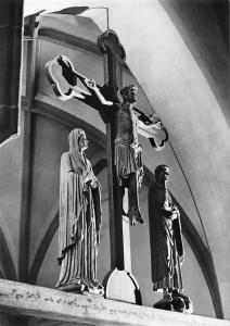 Freiberg Dom Romanische Kreuzigungsgruppe Cathedral Crucifix Statues
