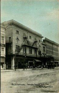 South Bend IN~Michigan Street Auditorium Theatre~Vernon Store~1910 CU Williams