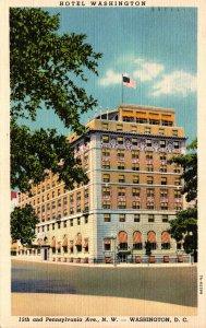 Washington D C Hotel Washington 1938 Curteich