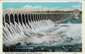 Alabama Muscle Shoals Wilson Dam Looking South