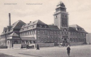 DARMSTADT (Hesse), Germany, 1900-1910s : Hallenschwimmbad