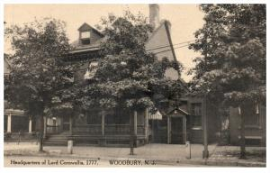 New Jersey  Woodbury ,  Headquarters Lord Cornwallia