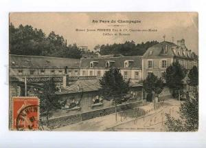 236436 FRANCE Champagne maison PERRIER 1928 y RPPC to Ethiopia