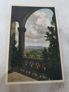 Antique Postcard entitled Pisgah and the Rat from the West Loggia