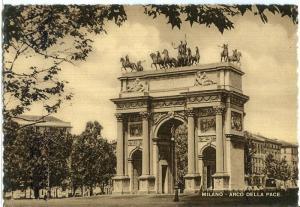Italy, Milano, Arco Della Pace, Arch of Peace, 1940s