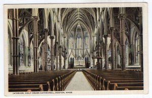 Boston, Mass, Interior, Holy Cross Cathedral