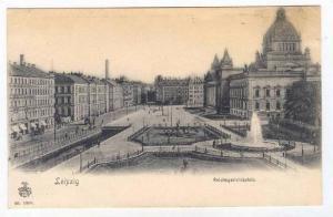 Liepzig , Germany, 1890s   Reichsgerichtsplatz