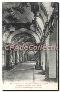 Postcard Old Toulouse Salle Des Illustrious