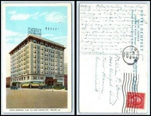 GEORGIA Postcard - Macon, Hotel Dempsey N9