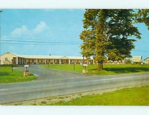 Unused Pre-1980 FLYNN'S MOTEL Massena New York NY u7199-12