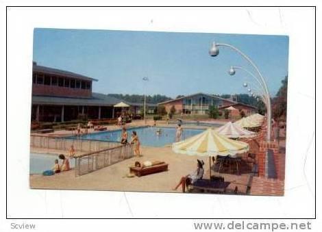 Motor House & Pool, Williamsburg, Virginia, 40-60s