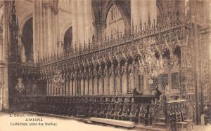 France Amiens Cathedrale (cote des Stalles)