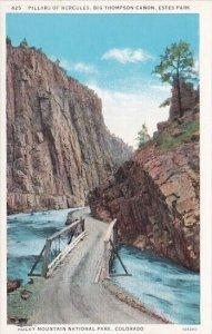 Pillars Of Hercules Big Thompson Canon Estes Park Rocky Mountain National Par...