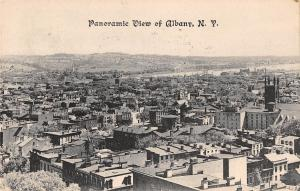 Panoramic Albany New York  antique pc Y8482